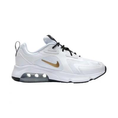 ナイキ メンズ マックス200 Nike Air Max 200 スニーカー White/Metallic Gold/Black/Metallic Silver
