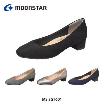 ムーンスター レディース パンプス sugata MS SGT601 シューズ 靴 やわらか設計 Ag 抗菌防臭 軽量設計 フォーマル 3E 月星 MOONSTAR MSSGT601