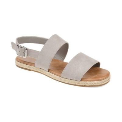 ジャーニーコレクション サンダル シューズ レディース Women's Georgia Sandals Grey