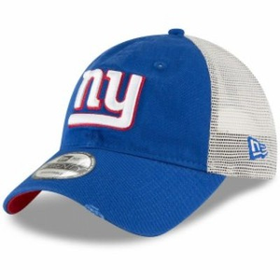 New Era ニュー エラ スポーツ用品  New Era New York Giants Royal Stated Back Trucker 9TWENTY Adjustable Hat