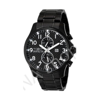 Invicta Men's 0383 II Collection Black Ion-Plated Stainless Steel Watch(並行輸入品)