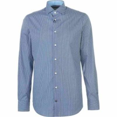 トミー ヒルフィガー Tommy Hilfiger メンズ シャツ トップス Tommy Long Sleeve Shirt Teal