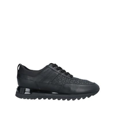 ジェオックス GEOX スニーカー&テニスシューズ(ローカット) ブラック 41 革 / 紡績繊維 スニーカー&テニスシューズ(ローカット)