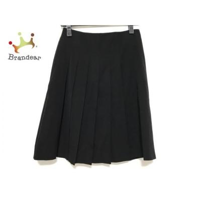 ルシェルブルー LE CIEL BLEU スカート サイズ38 M レディース 美品 黒 プリーツ   スペシャル特価 20200804