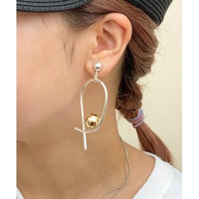 イヤリング 【Sea'ds mara】Orbital Earrings