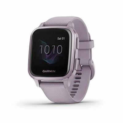 送料無料 Garmin Venu Sq GPS Smartwatch with Bright Touchscreen Display Up to 6 Days of Battery Life Orchid Purple