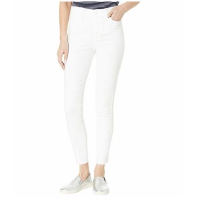 ペイジ デニム ボトムス レディース Margot Ankle w/ Raw Hem Jeans in Crisp White Crisp White