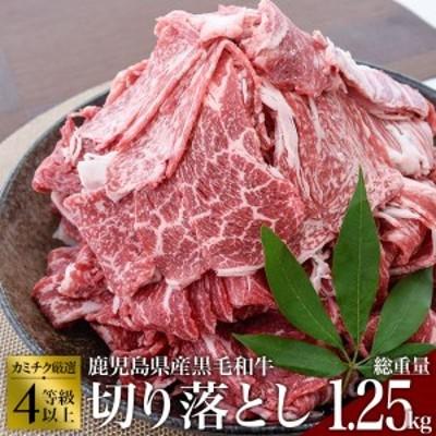 A230 4~5等級鹿児島県産黒毛和牛切落し1.25kg