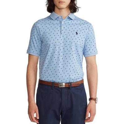 ラルフローレン メンズ ポロシャツ トップス Classic-Fit Soft Cotton Short-Sleeve Polo Shirt Jamaica Heather Savile Fluer
