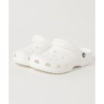 サンダル crocs クロックス classic クラシック 10001-100 white