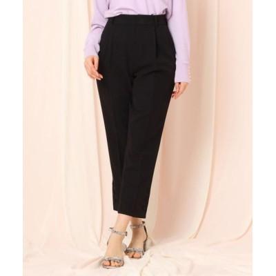 Couture Brooch/クチュールブローチ ボタンテーパードパンツ ブラック(019) 36(S)
