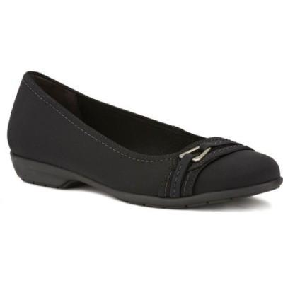 ウォーキング クレードル Walking Cradles レディース スリッポン・フラット バレエシューズ シューズ・靴 Flynn Ballet Flat Black Fabric
