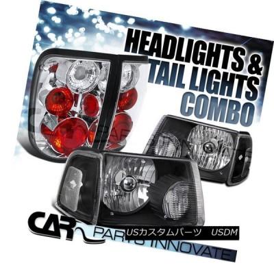 ヘッドライト 2001-2005レンジャー・ブラック・クリア・ヘッドライト+ Cor   nerシグナルランプ+クロームテール
