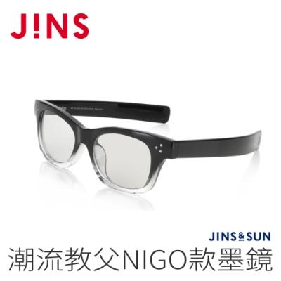 JINS&SUN 潮流教父NIGO款墨鏡(AMRF20A053)漸層黑