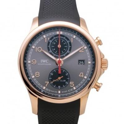 IWC ポルトギーゼ ・ヨットクラブ・クロノグラフ IW390505 グレー/ブラック文字盤 新品 腕時計 メンズ