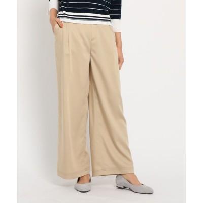 Reflect / 【洗える】デニムライクワイドパンツ WOMEN パンツ > パンツ