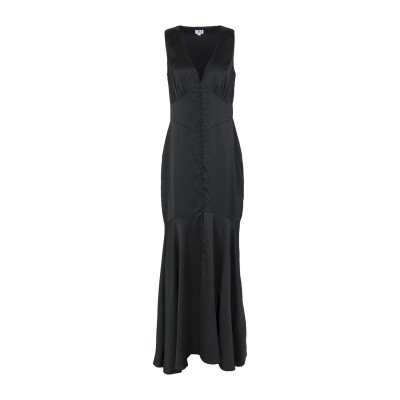 TRUE DECADENCE ロングワンピース&ドレス ブラック S ポリエステル 100% ロングワンピース&ドレス