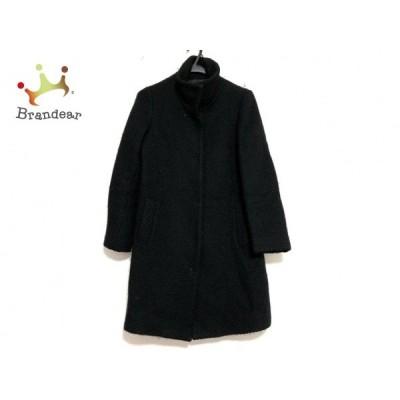 ストロベリーフィールズ STRAWBERRY-FIELDS コート レディース 美品 黒 冬物     スペシャル特価 20201202