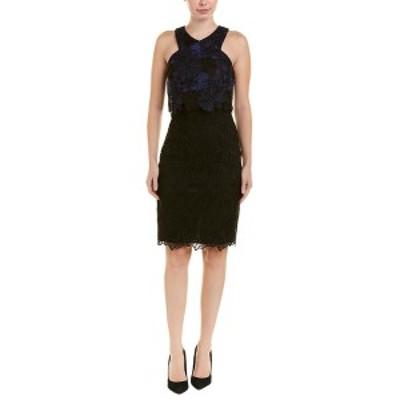 トリーナターク レディース ワンピース トップス Trina Turk Miranda Sheath Dress black & blue aster