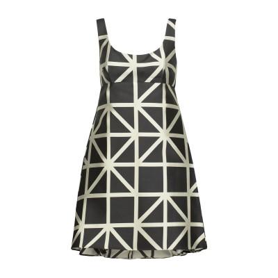 ミリー MILLY ミニワンピース&ドレス ブラック 8 ポリエステル 91% / シルク 9% ミニワンピース&ドレス
