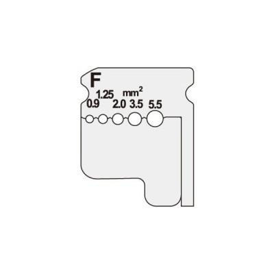 DIV-095KP (DIV095KP) ジェフコム デンサン DENSAN  ワイヤーストリッパー(IV線用替刃)
