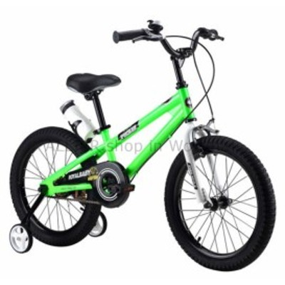 "BMX キッズフリースタイルバイク男の子の女の子のバイク12 ""BMX自転車Wトレーニングホイールグリーン  Kids Frees"
