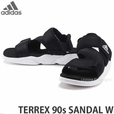 アディダス オリジナルス TERREX 90s SANDAL W カラー:コアブラック/フットウェアホワイト/コアブラック