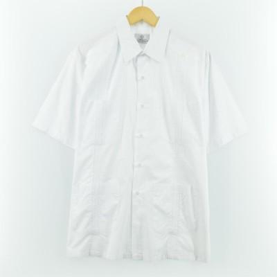 CRIOLLA 半袖 キューバシャツ メンズXL /eaa052770