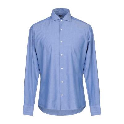 HERMAN & SONS シャツ ブルー 40 コットン 100% シャツ