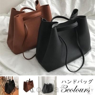 トートバッグ提げバッグレディースハンドバッグ大容量カバン2way鞄上品質OL通勤シンプル20代30代40代50代