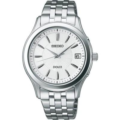 [セイコーウォッチ] 腕時計 ドルチェ ソーラー電波修正 サファイアガラス スーパークリア コーティング SADZ123 シルバー
