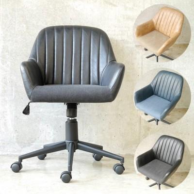 オフィスチェア おしゃれ デスクチェア 北欧 パソコンチェア キャスター 肘付き アンティーク 昇降 昇降式 椅子 チェア キャスター付き