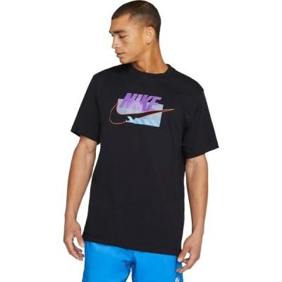 ナイキ Nike メンズ Tシャツ トップス NSW SP Brandmarks HBR Tee Black/Wild Berry