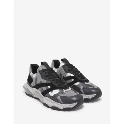 ヴァレンティノ Valentino Garavani メンズ スニーカー シューズ・靴 Grey Camo Bounce Trainers Grey