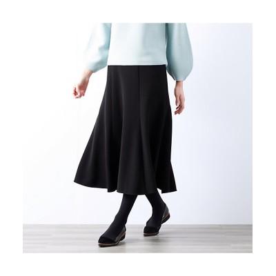 <AMACA(Women)/アマカ> ダブルクロスストレッチスカート(V5S20493__) クロ【三越伊勢丹/公式】