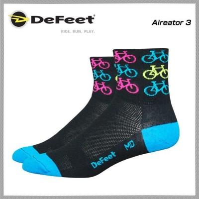 (DeFeet)デフィート Socks ソックス Aireator 3 クールバイク