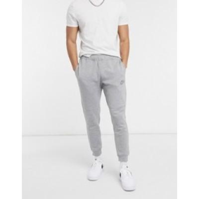 ナイキ メンズ カジュアルパンツ ボトムス Nike Revival cuffed sweatpants in gray Grey