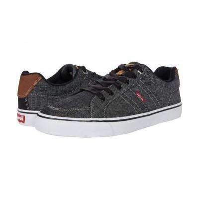 Levi's(R) Shoes リーバイス メンズ 男性用 シューズ 靴 スニーカー 運動靴 Turner Chambray - Black/Tan