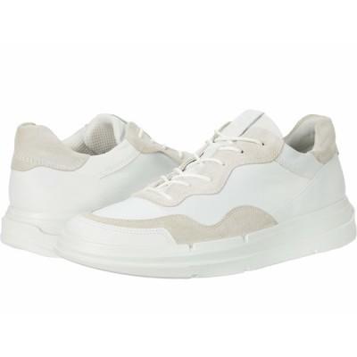 エコー スニーカー シューズ レディース Soft X Sneaker White/Shadow White
