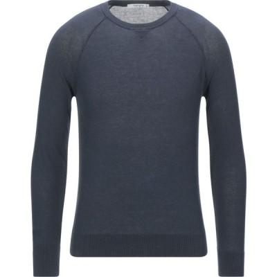 カングラ カシミア KANGRA CASHMERE メンズ ニット・セーター トップス sweater Slate blue