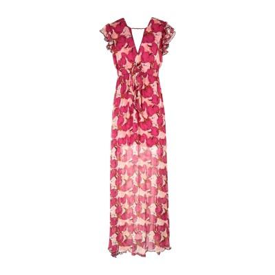 ピンコ PINKO ミニワンピース&ドレス フューシャ 38 レーヨン 100% / ガラス ミニワンピース&ドレス