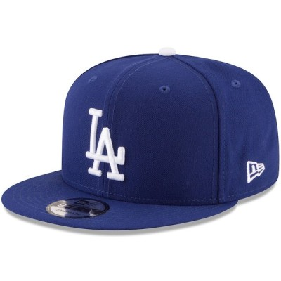 """ニューエラ メンズ キャップ """"Los Angeles Dodgers"""" New Era Team Color 9FIFTY Snapback Hat - Navy"""