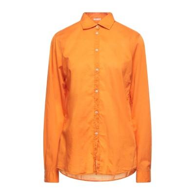マッシモ・アルバ MASSIMO ALBA シャツ オレンジ XS コットン 100% シャツ