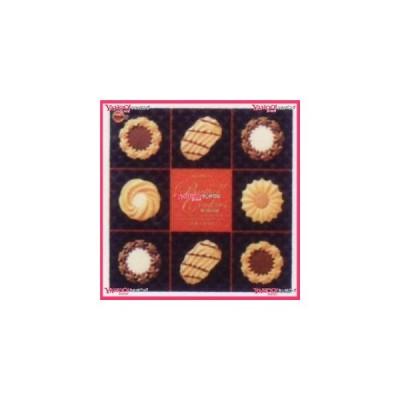業務用菓子問屋GGxブルボン 60枚 ミニギフトバタークッキー缶×4個 +税 【xb】【送料無料(沖縄は別途送料)】