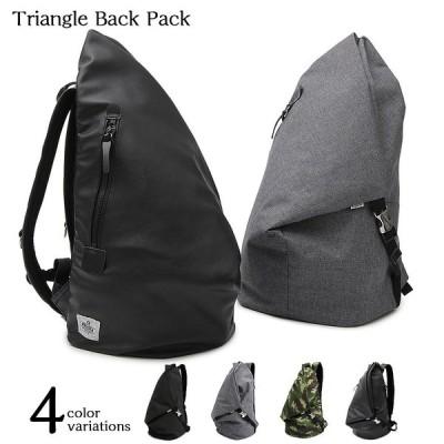 背負いバッグ リュック トラベル ビジネス 大容量 三角形 ビッグ カバン ユニセックス