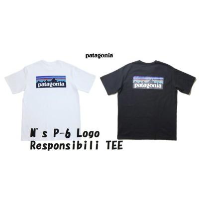 パタゴニア メンズ P-6ロゴ レスポンシビリ Tシャツ patagonia  M'S P-6 LOGO RESPONSIBILI-TEE 定番