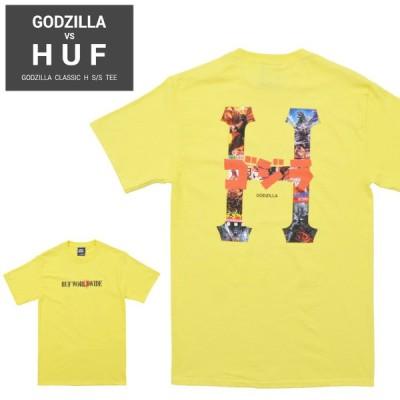 HUF ハフ Tシャツ GODZILLA CLASSIC H S/S TEE 半袖 カットソー トップス TS01364 単品購入の場合はネコポス便発送