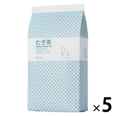 小谷穀粉小谷穀粉 みんなで楽しむむぎ茶ティーバッグ1L用 1セット(52バッグ入×5袋)