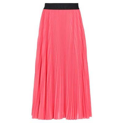 SHIRTAPORTER 7分丈スカート コーラル 46 ポリエステル 100% 7分丈スカート