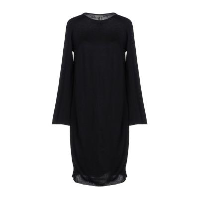 L.V..N. ミニワンピース&ドレス ブラック 40 ウール 70% / カシミヤ 30% ミニワンピース&ドレス